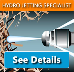 Hydro Jetting Specialist at Cutting Edge Sewer Any Drain, Day or Night