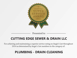Cutting Edge Sewer and Drain LLC - Find Us on Angie's List